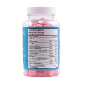 Hair Gummies Nutrition Facts