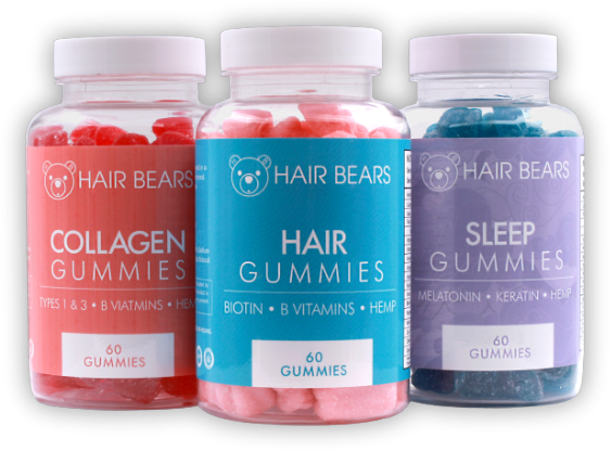 Collagen Hair Sleep Gummies